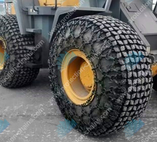 29.5-25 CAT Wheel Loader tire protection chain