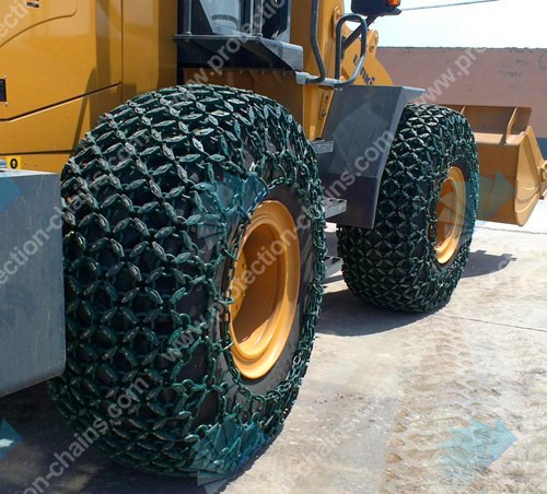 Snow chains type 6x6 for tire