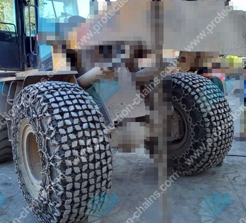 Chinese Tyres Mail: Wheel Chains Used On 26.5-25 Tires,wheel Chains,tire