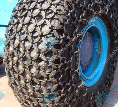 6x6 tire protection chain