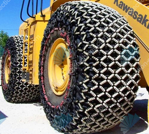 Chinese Tyres Mail: Steel Mesh OTR 29.5-25 Tyre Protection Chain/snow Chain