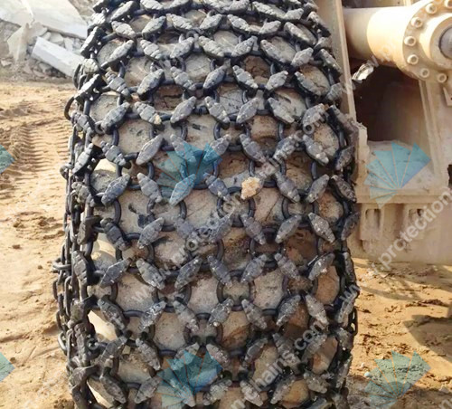 High quality tire protection chain for mining