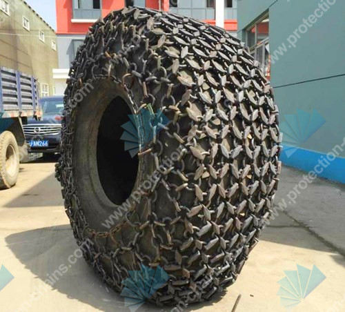 Volvo loader tire chain alloy steel 26.5-29 for quarry