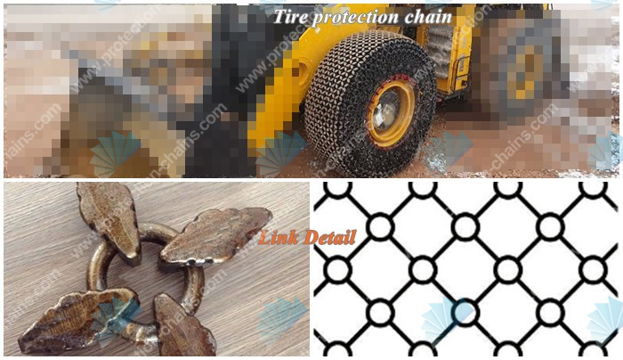 26.5-25 link used for <a href='http://www.protection-chains.com' target='_blank'>tire protection chain</a>
