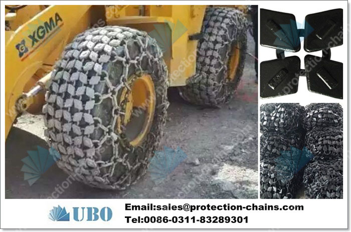 Tire protection chain 29.5-29 used on tires made in China